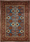 "Classic, Red Wool Area Rug - 6' 2"" x 8' 7"""