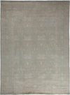 "Oushak, Gray Wool Area Rug - 9' 0"" x 12' 2"""