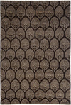 "Classic, Brown Wool Area Rug - 6' 10"" x 10' 0"""