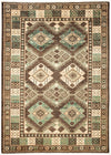 "Classic, Brown Wool Area Rug - 6' 0"" x 8' 4"""