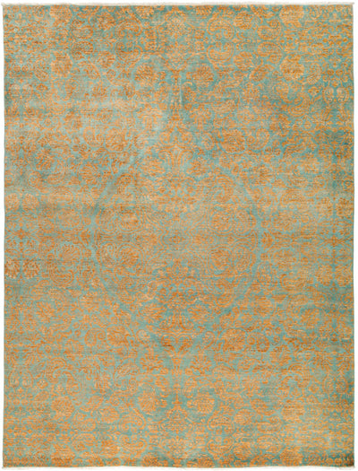 "Suzani, Multi Wool Area Rug - 9' 2"" x 11' 10"""
