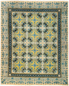 "Suzani, Blue Wool Area Rug - 8' 2"" x 10' 0"""