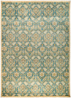 "Suzani, Blue Wool Area Rug - 10' 2"" x 13' 10"""