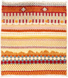 Tribal, Multi Wool Area Rug - 2' X 2'1""