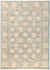 "Suzani, Gray Wool Area Rug - 6'3"" X 8'9"""