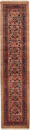 "Persian, Red Wool Runner - 2' 4"" x 10' 2"""