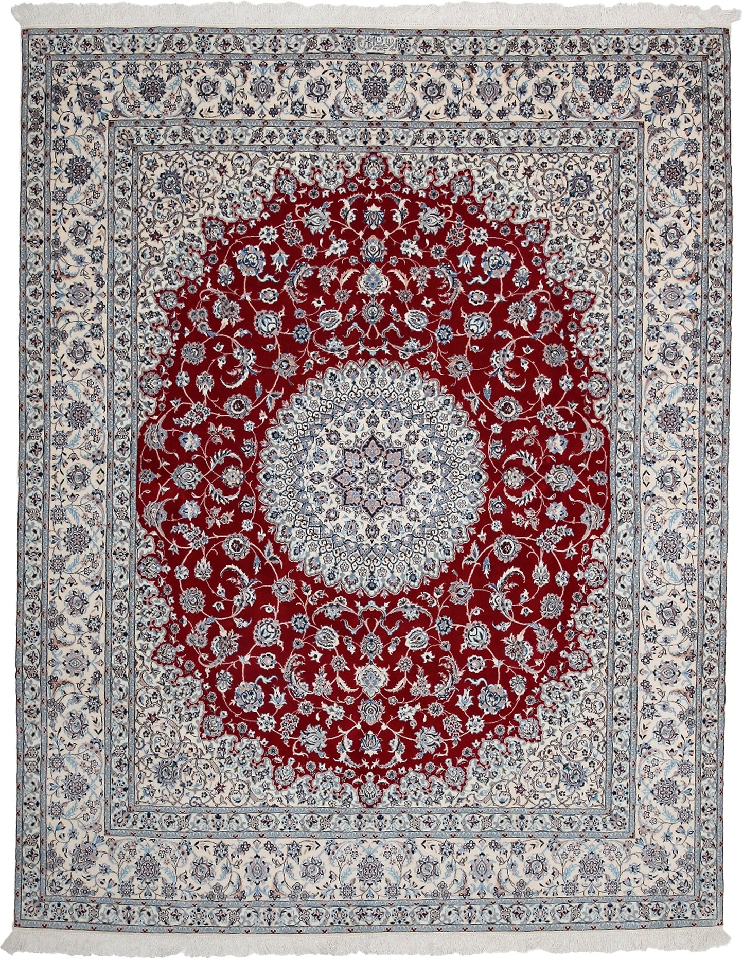Persian Red Wool Area Rug 6 9 X 8 7 Lillian August