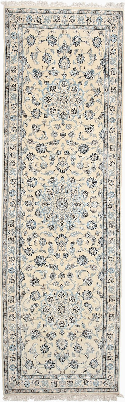 "Persian, Ivory Wool Runner - 3' 0"" x 9' 8"""