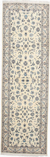 "Persian, Ivory Wool Runner - 3' 0"" x 9' 9"""