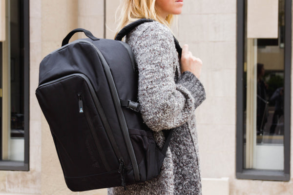 Card Carrying Backpack Lifestyle