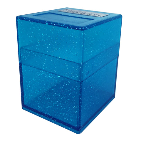 Defender Deck Box, Blue Sparkle