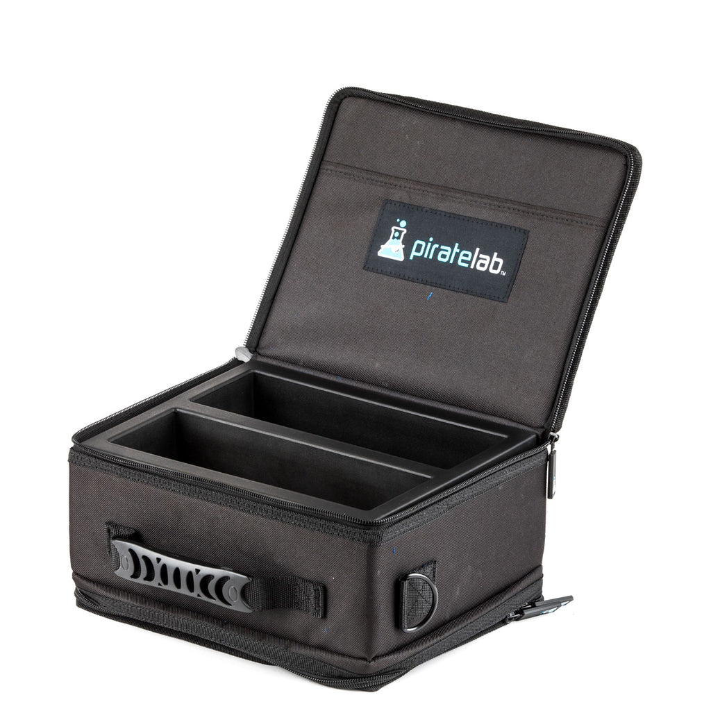 Pirate Lab Card Case Black Small Carrying Case With Foam