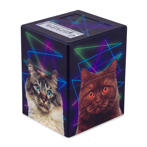 Defender Deck Box, Artwork Series, Cats!