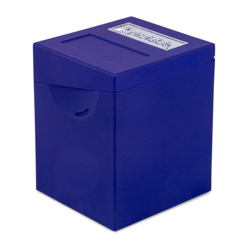 Defender Deck Box, Hinge Series, Blue