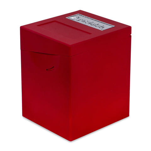 Defender Deck Box, Hinge Series, Red