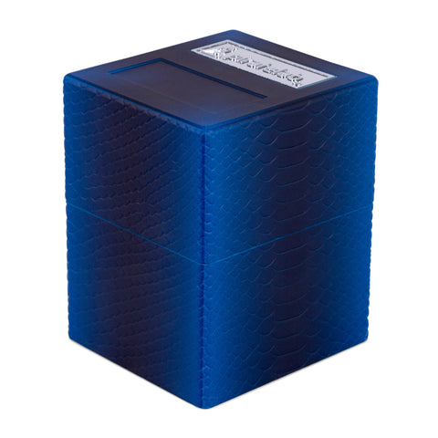 Defender Deck Box, Texture Series, Dragon, Deep Blue
