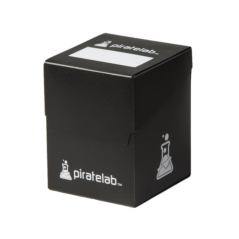 Pirate Lab Black 120-Card Deck Box