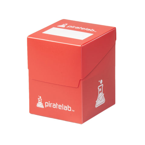 Pirate Lab Red 120-Card Deck Box