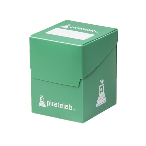 Pirate Lab Green 120-Card Deck Box