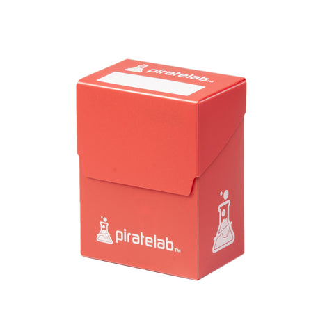Pirate Lab Red 80-Card Deck Box