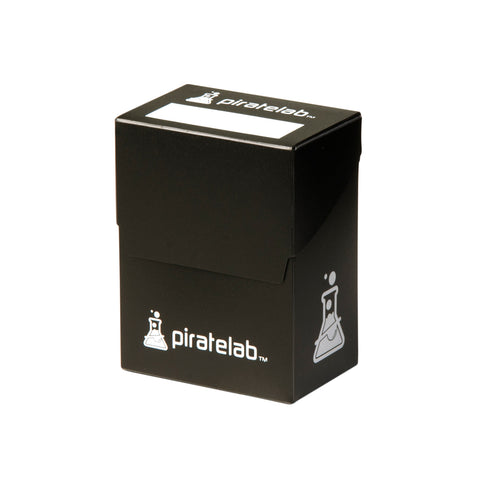 Pirate Lab Black 80-Card Deck Box