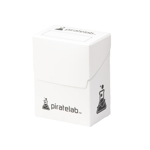 Pirate Lab White 80-Card Deck Box