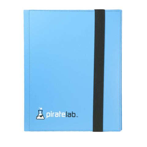 Pirate Lab Blue Card Binder