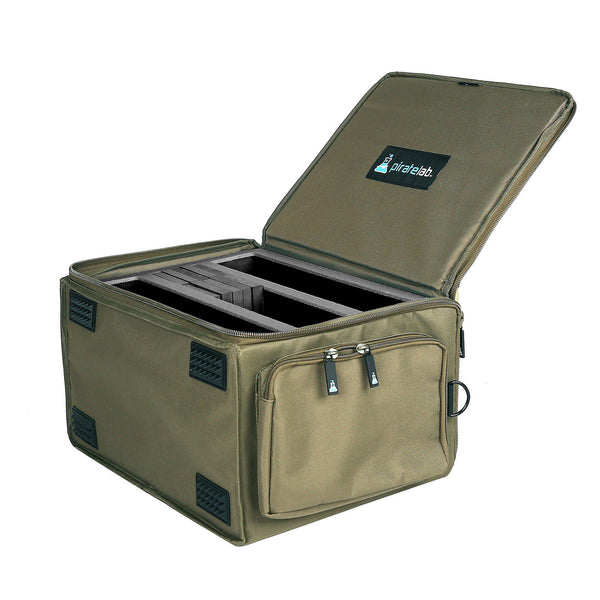Pirate Lab Olive Drab XL Card Carrying Case + Max Capacity Foam Card Trays
