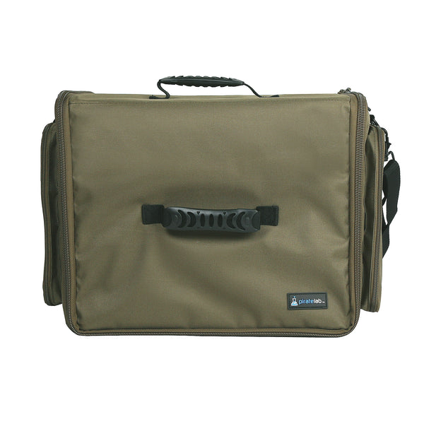 Pirate Lab Olive Drab XL Card Carrying Case Top View