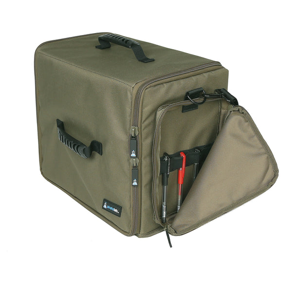 Pirate Lab Olive Drab XL Miniatures Case + Side Pocket