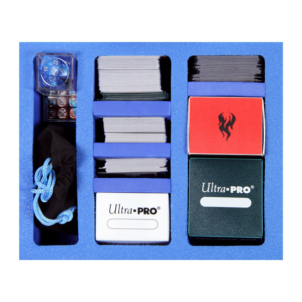 Pirate Lab Small Compartment Foam Tray + MtG Deck Boxes