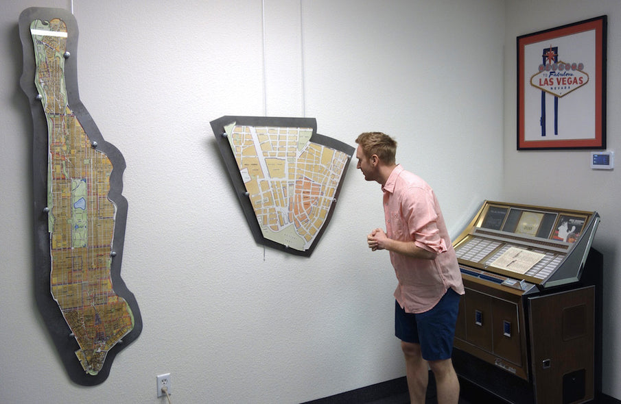 Come Visit our Maps Showroom in Vegas