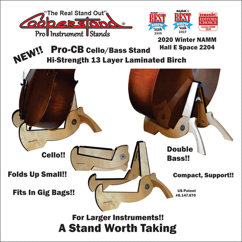 Laminated Birch Cello/Double Bass Stand