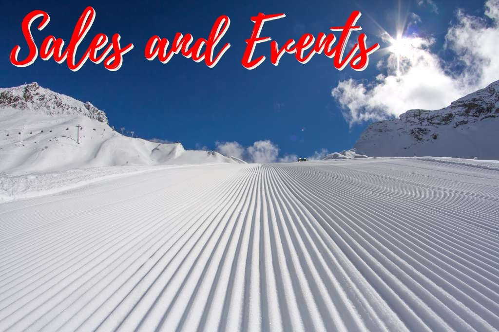 Ski equipment sales and Snowboard equipment sales