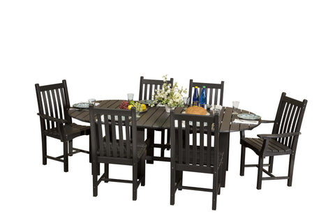 Little Cottage 44x84 Table w/ 6 Chairs