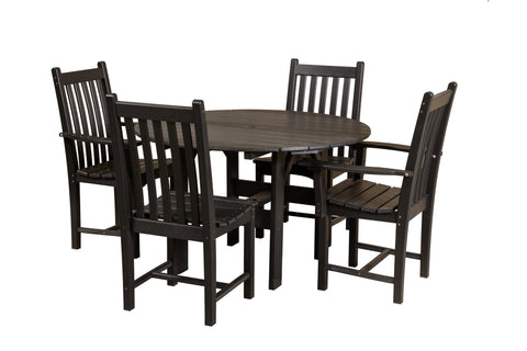 "Little Cottage 46"" Round Table w/ 4 side chairs"