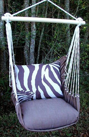 Magnolia Casual Zebra Swing Set