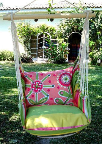 Magnolia Casual Fun Flower Swing Set