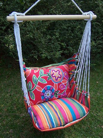 Magnolia Casual Flowers Swing Set