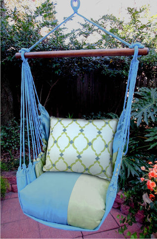 Magnolia Casual Pattern Pillow Swing Set