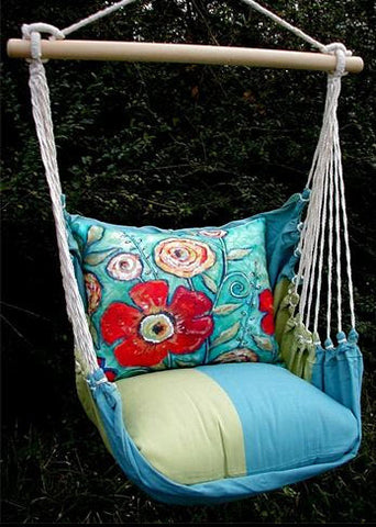Magnolia Casual Flower Swing Set