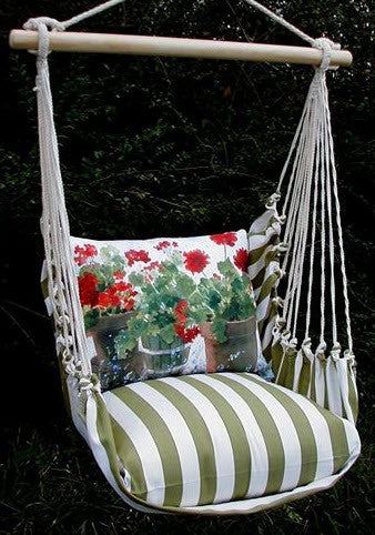 Magnolia Casual Geraniums Swing Set