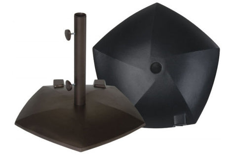 Treasure Garden Pentagon w/ wheels Umbrella Base