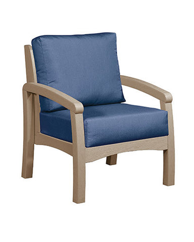 CRP Products Bay Breeze Coastal Collection - Beige/Indigo Blue