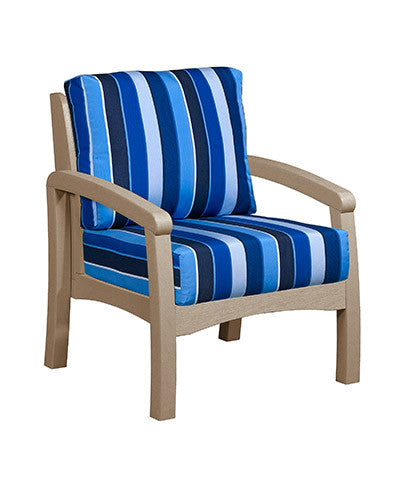 CRP Products Bay Breeze Coastal Collection - Beige/Milano Cobalt
