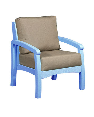 CRP Products Bay Breeze Coastal Collection - Sky Blue/Taupe