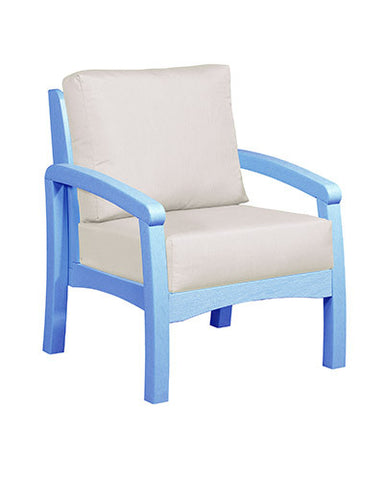 CRP Products Bay Breeze Coastal Collection - Sky Blue/Canvas Natural
