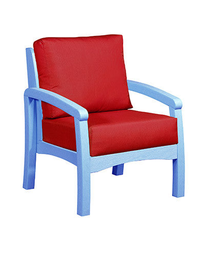CRP Products Bay Breeze Coastal Collection - Sky Blue/Jockey Red