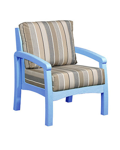CRP Products Bay Breeze Coastal Collection - Sky Blue/Milano Charcoal