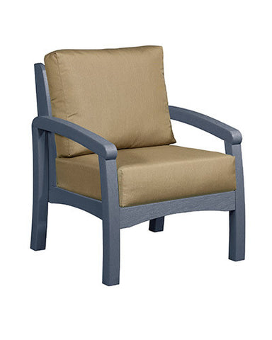 CRP Products Bay Breeze Coastal Collection - Slate Grey/Canvas Heather